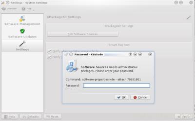 Edit Software Sources