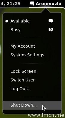 ShutDown-Usermenu