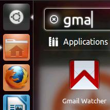 程序面板搜索gmail Watcher
