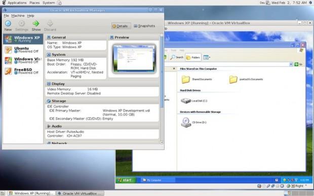 LinuxVirtualBox