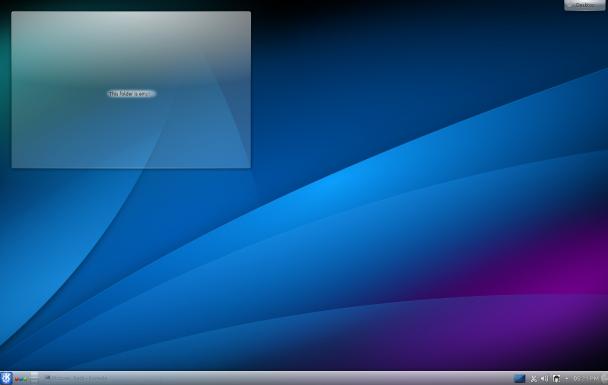 KDE SC 4.10默认的墙纸