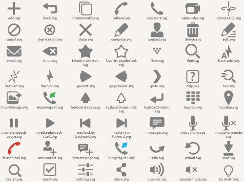 ubuntu mobile icon theme 009 raring