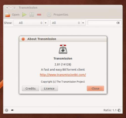transmission 281 ubuntu 12.04