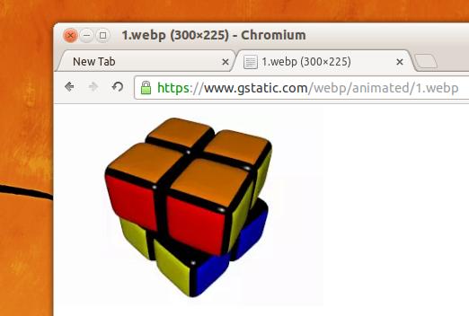 Chromium 32 webp image