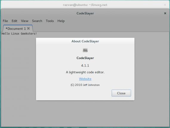 CodeSlayer 4.1.1