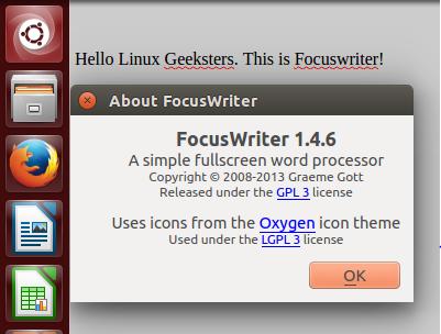 Focuswriter 1.4.6