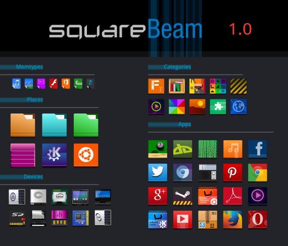 Square-Beam