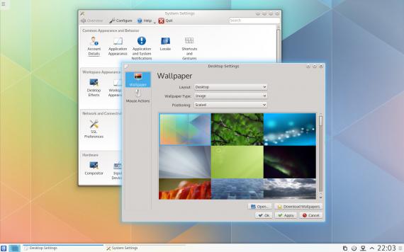 KDE Plasma 5 beta