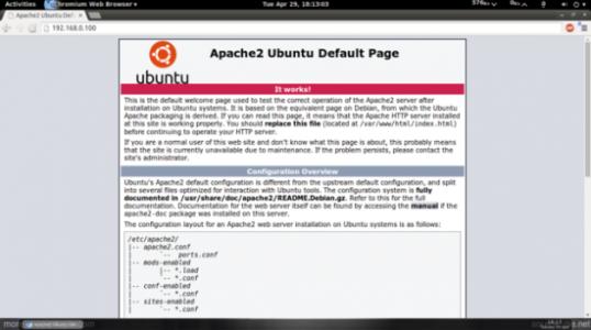 Ubuntu 14.04 LTS Server 安装 LAMP Server