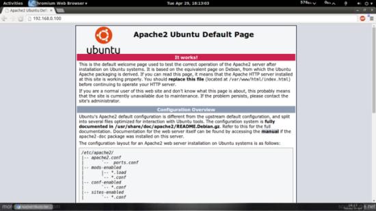 apche browser
