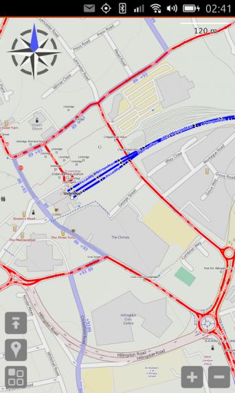 The modRana Navigation Software