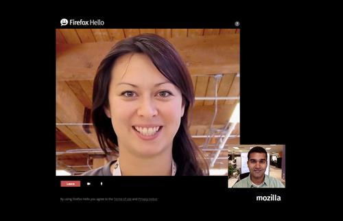 Firefox 35新版加入Hello视频通话功能