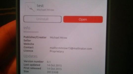 Ubuntu Touch 商店出现第一个恶意应用