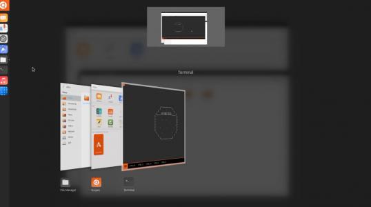 Ubuntu Unity 8 桌面从 14.10 到 17.04 的演变