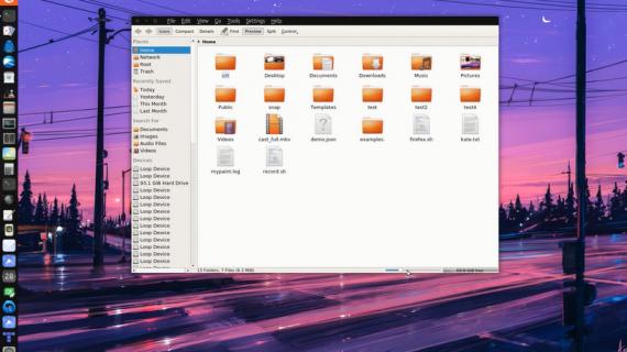 【高清视频】Ubuntu 17.04 Unity 8 – KDE apps 在 Mir 上运行