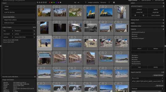 数字摄影暗房软件 Darktable 2.2.2 在 ubuntu 安装方法