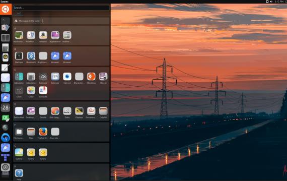 Ubuntu 17.04 Unity 8 - 目前开发情况