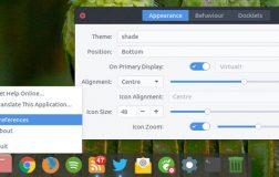 Latte Dock 作为一个 KDE 漂亮的桌面面板替换