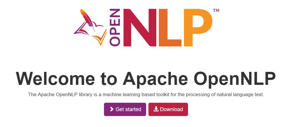 自然语言处理工具 OpenNLP 1.8.0 发布啦!自然语言处理工具 OpenNLP 1.8.0 发布啦!