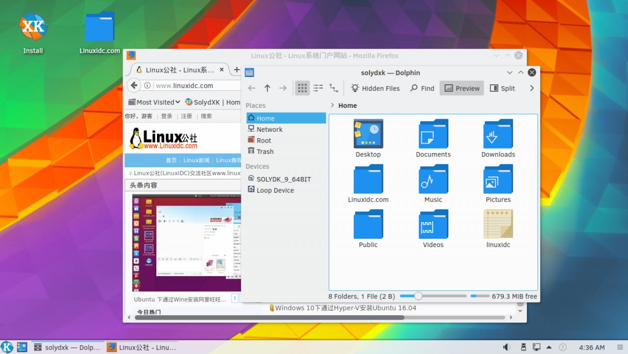 SolydXK 9正式发布:基于Debian 9SolydXK 9正式发布:基于Debian 9