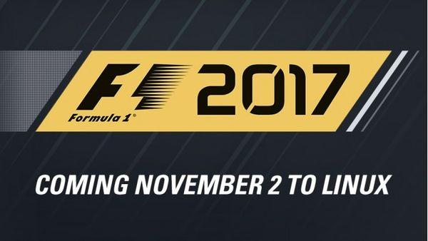 竞速游戏《F1 2017》登陆GNU/Linux平台竞速游戏《F1 2017》登陆GNU/Linux平台