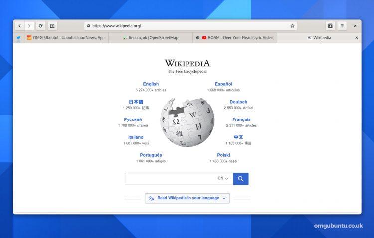 GNOME Web 40又名顿悟